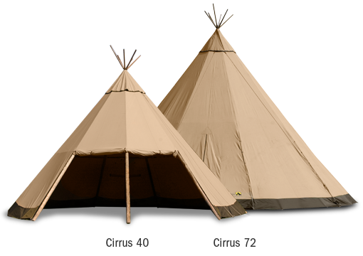Cirrus tents